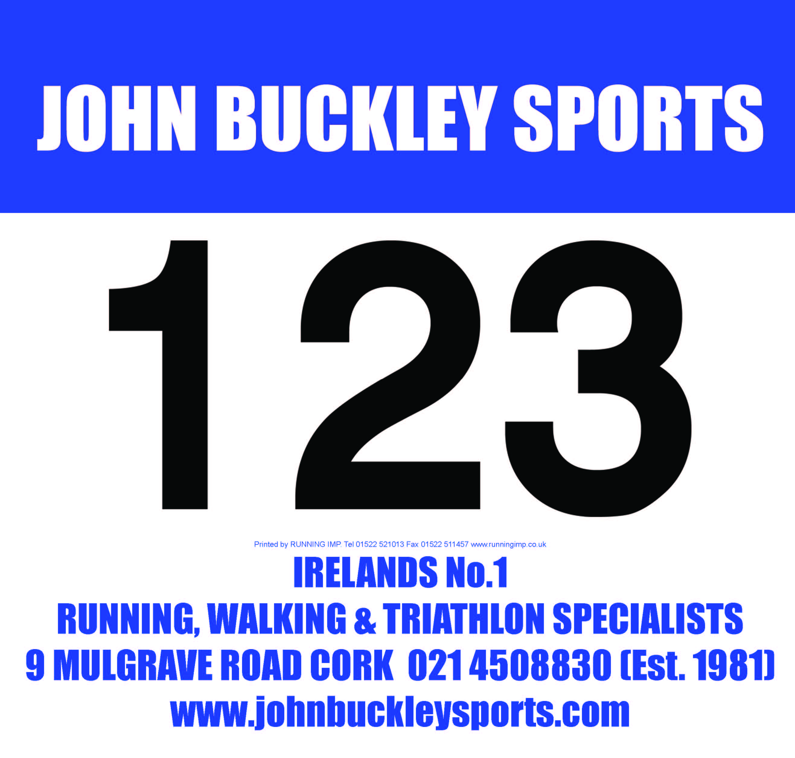 Race Numbers & Pins