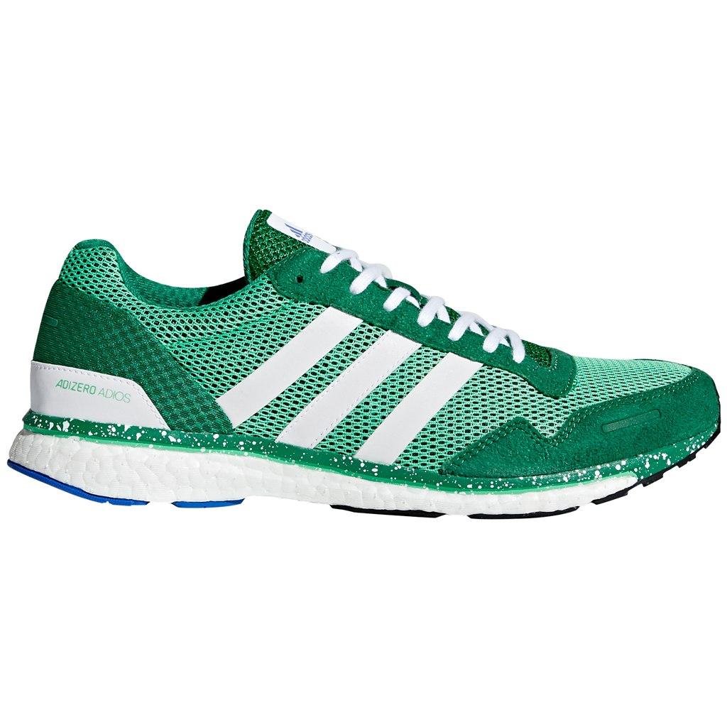 Adidas Mens Adizero Adios Boost Lightweight Neutral Running Shoes