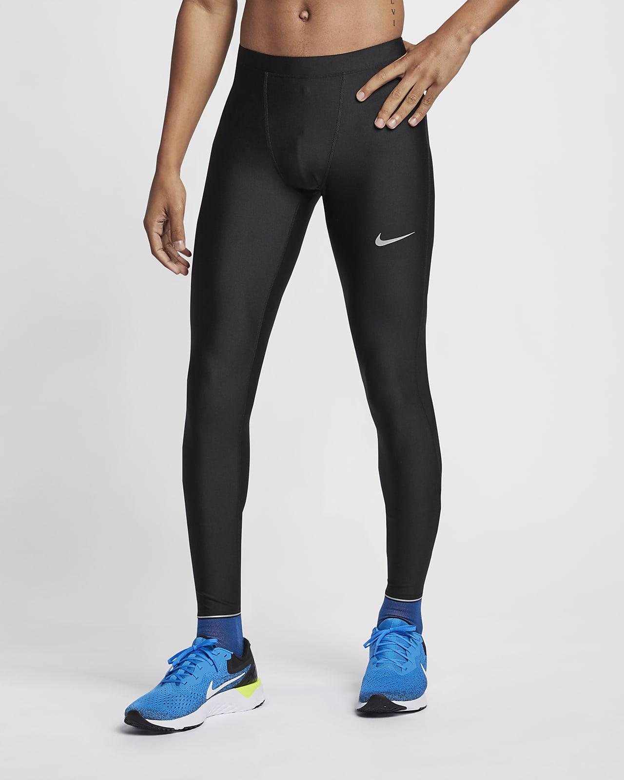Men's Nike Running Tights (Black
